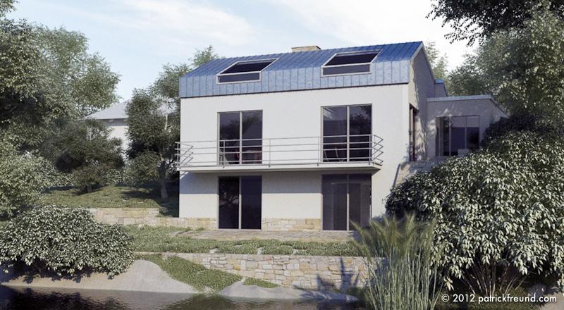 Haus p patrick freund architekt for Cinema 4d architektur