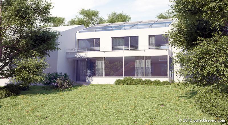Haus k patrick freund architekt for Cinema 4d architektur